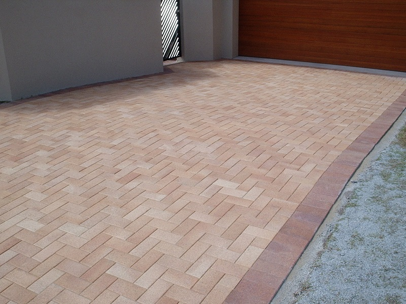 driveway paving clay pavers regency gold