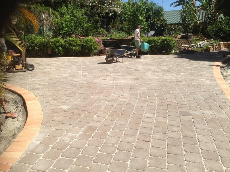 paving driveway concrete pavers 200x200