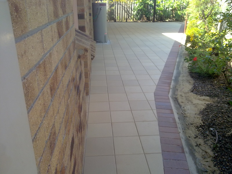 Paving Patio Clay pavers