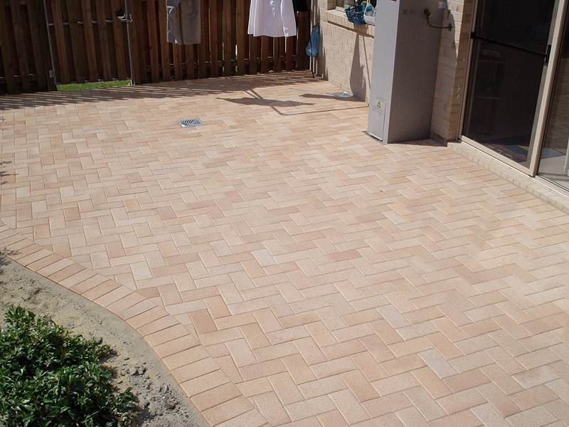 Paving patio clay pavers 230x115