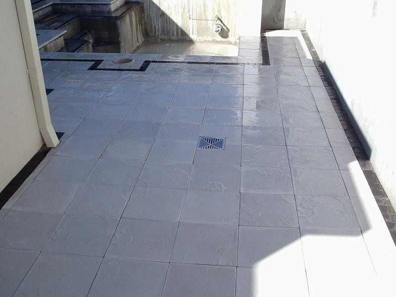 Gold Coast paving pool concrete pavers 400x400x40 edenstone