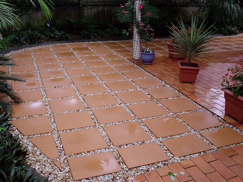 paving steppers concrete pavers 400x400 pebble