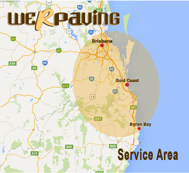 We R Paving Service Area